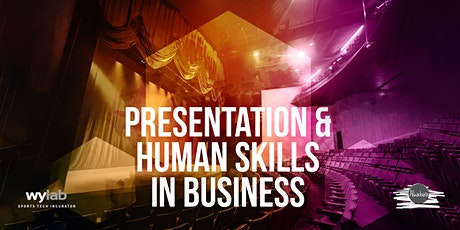 Presentation & human skills in business biglietti