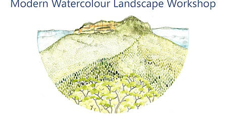 Modern Watercolour - Landscape Workshop tickets