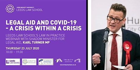 Legal Aid and COVID-19 – A Crisis Within A Crisis tickets