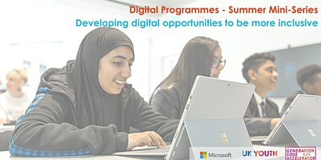 Summer Mini-Serie: Developing digital opportunities to be more inclusive tickets