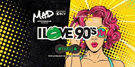 I LOVE 90'S billets