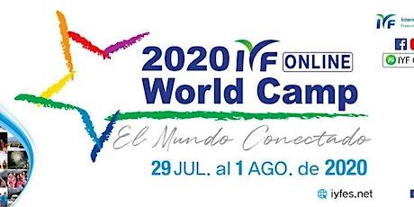 IYF WORLD CAMP 2020 entradas