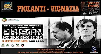 Strings Theory Music Fest - Prison Songbook - Piolanti & Vignazia biglietti