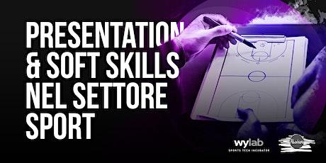 Presentation & Soft Skills nel settore sport biglietti