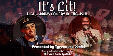 It's Lit!-English Language Comedy tickets