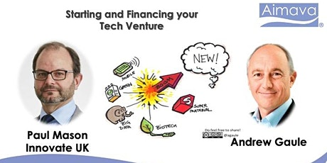 Starting and Financing your Tech Venture - inc. Innovate UK, Paul Mason tickets