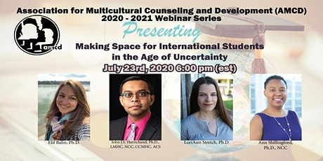 Making Space for International Students in the Age of Uncertainty tickets