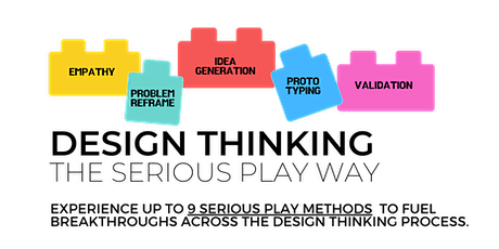 Design Thinking the Serious Play way tickets