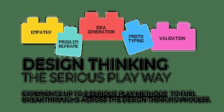 Design Thinking the Serious Play way biglietti