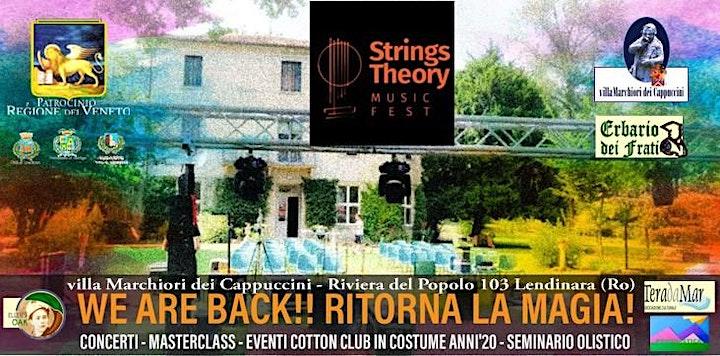 Immagine STRINGS THEORY MUSIC FEST - seminario olistico - Costellazioni Spirituali