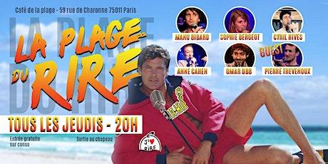 La Plage Du Rire #22 - Stand Up billets