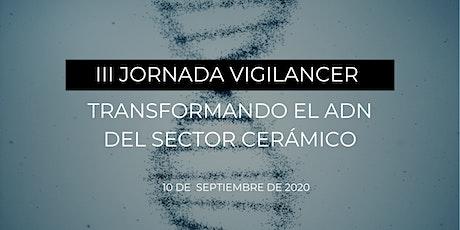 III Jornada Vigilancer - Inscripción presencial entradas