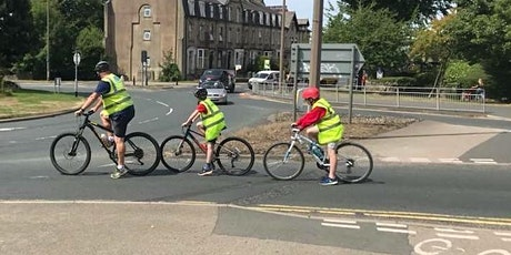 Children's Level 1, 2 and 3 Bikeability  - FREE - Holiday Activity PENDLE tickets
