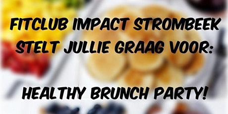 Brunch zondag 2/8 10u tot 11u tickets