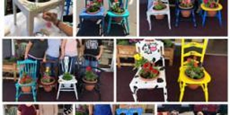 DIY Chair Planter Class - Limited Seating tickets