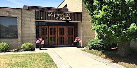 St. Patrick's Church Mass Registration tickets