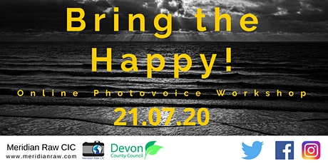 Photovoice Online - Bring the Happy! tickets