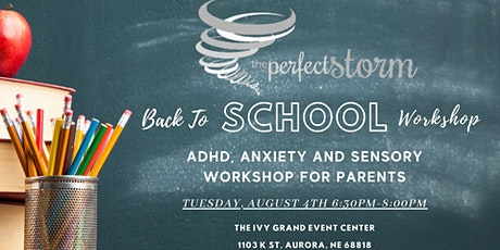 The Perfect Storm: ADHD, Anxiety & Sensory Workshop for Parents tickets