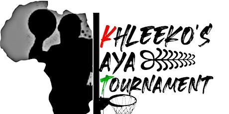 KHLEEKO's  Aya Basketball Game tickets