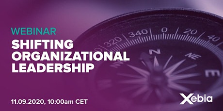 Webinar - Strategy to survive: Shifting organizational leadership tickets
