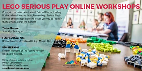 LEGO SERIOUS PLAY ONLINE WORKSHOP: TASTER SESSION tickets