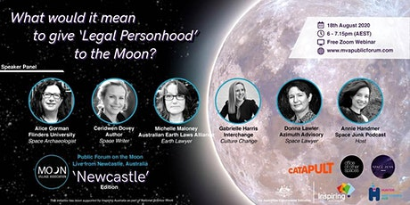 """What would it mean to give """"Legal Personhood"""" to the Moon? tickets"""
