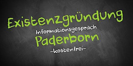 Existenzgründung Online kostenfrei - Infos - AVGS Paderborn Tickets