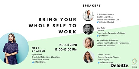 """Deloitte Leader In  - """"Bring your whole self to work"""" Tickets"""