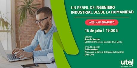 Sesión Online: Un perfil de Ingeniero Industrial desde la humanidad tickets