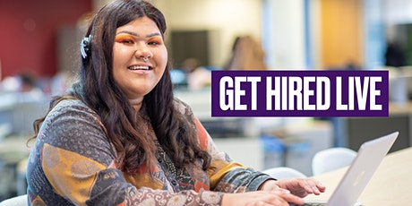 Get Hired Live,  Wednesday 5th August, for 18 to 30 year-olds tickets