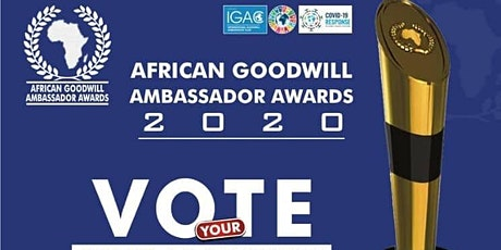 African Goodwill Ambassador Awards 2020 tickets