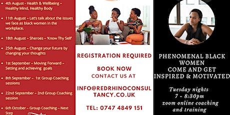 Phenomenal Black Woman Training and Coaching tickets
