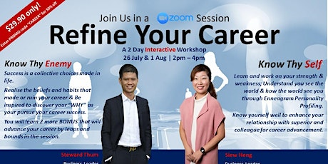 Refine Your Career - Know Thy Self tickets