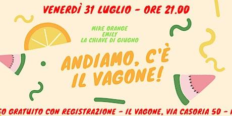MIKE ORANGE/EMILY/LA CHIAVE DI GIUGNO biglietti
