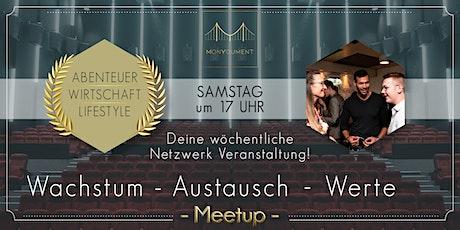 Wachstum - Austausch - Werte Meetup Wien Tickets