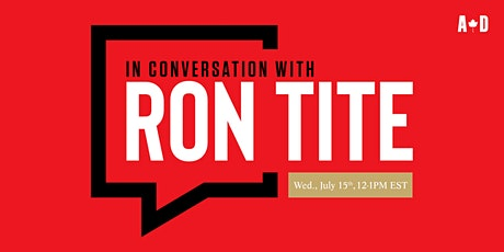 In Conversation with... Ron Tite tickets