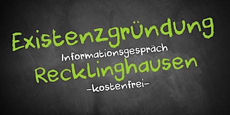 Existenzgründung Online kostenfrei - Infos - AVGS Recklinghausen Tickets