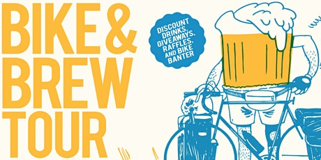 Bike & Brew Tour:  The 80's Roll on! tickets