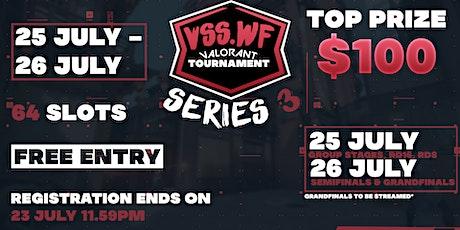 VSS.WF Valorant Tournament Series 3 tickets