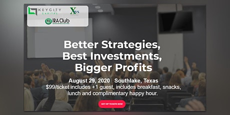 Better Strategies,  Best Investments,  Bigger Profits tickets