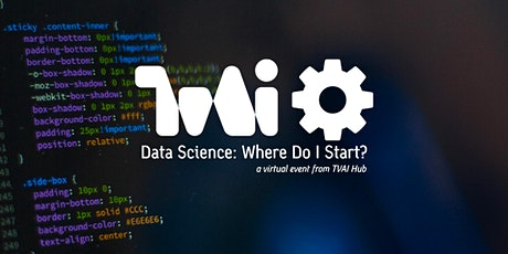 Data Science: Where do I start? biglietti
