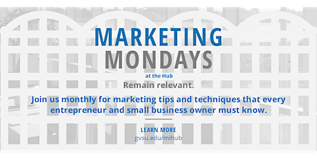 Virtual Marketing Monday - Intro to Content Marketing tickets