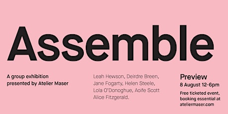 'Assemble' Exhibition by Atelier Maser tickets