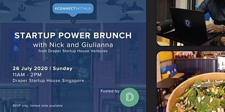 Startup Power Brunch fueled by Draper Startup House Ventures tickets