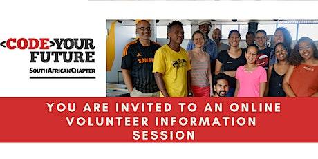 Volunteer Information Session - 21 July tickets
