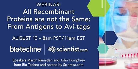 All Recombinant Proteins are Not the Same: From Antigens to Avi-tags tickets