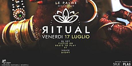 RITUAL ~ Ethnic vibes @ Le Palme Beach [Capitolo - Bari] biglietti