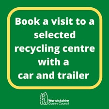 Recycling centre trailer bookings logo