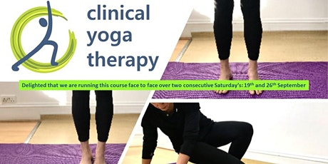 Clinical Yoga Therapy - A yoga-based approach to treatment & rehabilitation tickets