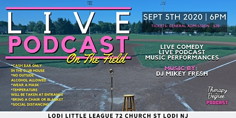 Live Podcast On The Field | Therapy Without a Degree tickets